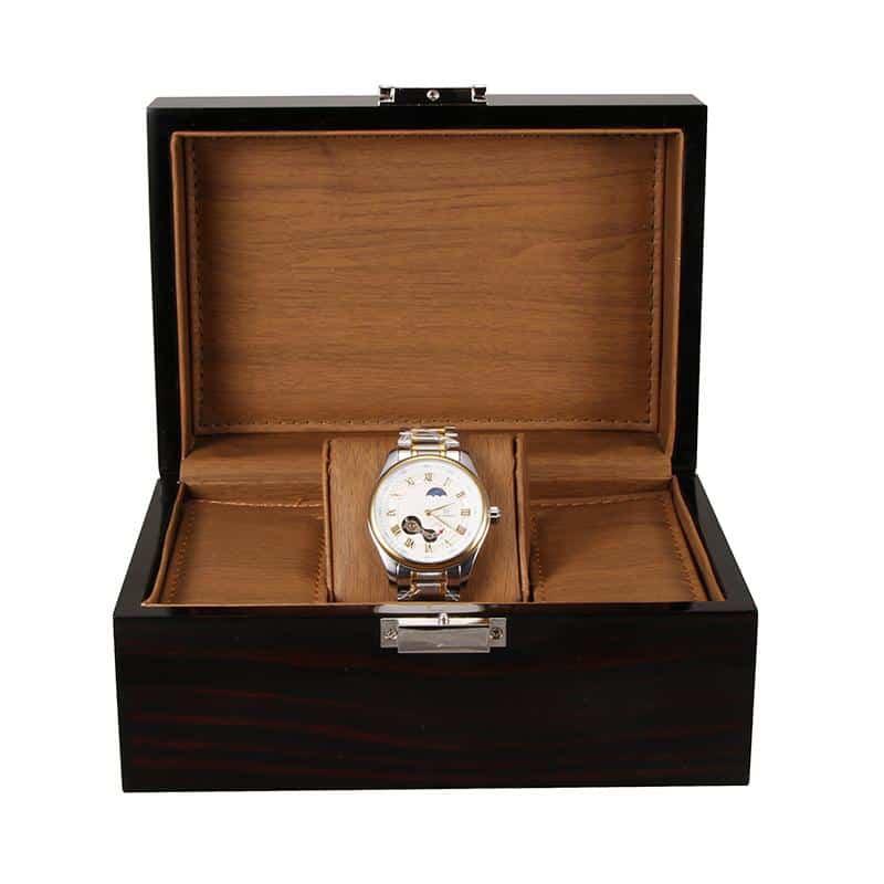 collection boites montres bois