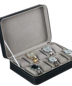 coffret à montres cuir