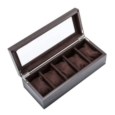 boite montre bois chocolat