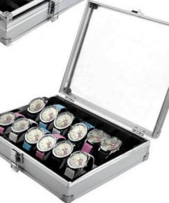 boite à montre en aluminium
