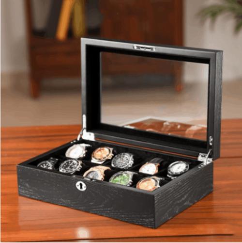boite à montres en bois