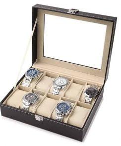 boite de rangement pour 10 montres