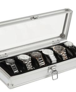 boite montre aluminium