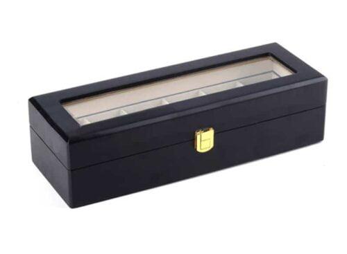 boite à montres bois charnière