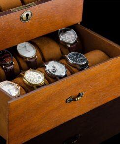 boite de rangement montres
