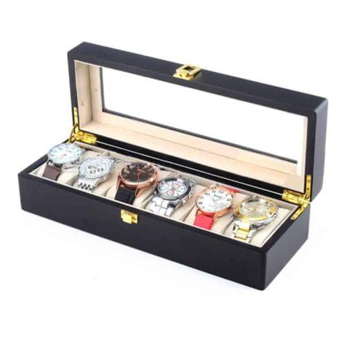 boite à montres bois