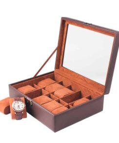 boite à montres en cuir