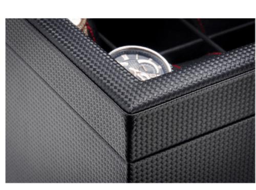 boite montre fibre carbone