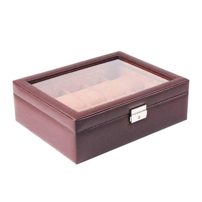 boites à montres en cuir