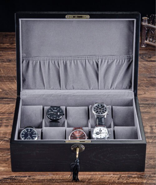 boite montre en bois