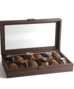 boite rangement pour montre luxe